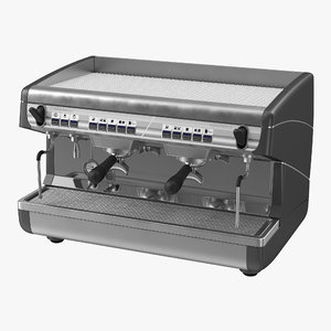 espresso machine generic 3d 3ds