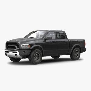 3d model generic pickup 2