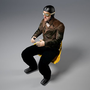 3d pilot world war model