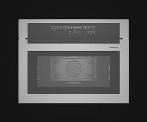 3d model barazza oven microwave feel