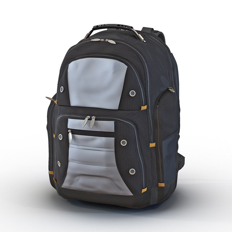 backpack 2 generic c4d