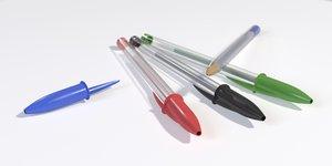 3d ballpoint pen