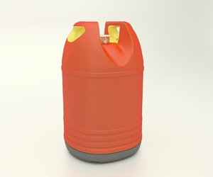 gas bottle 3d ma