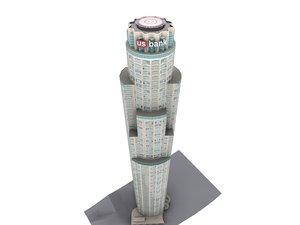 los angeles bank tower max