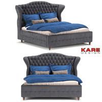 3d bed kare model