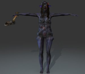3d model banshee