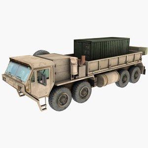 truck hemtt m977 3d 3ds
