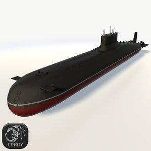 max typhoon class submarine