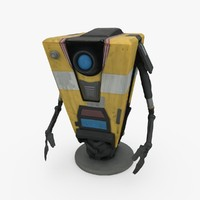 3d claptrap figurine borderlands model