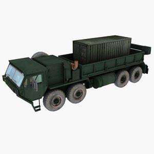 truck hemtt m977 3d max