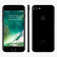 Apple iPhone 7 Jet Black and Black