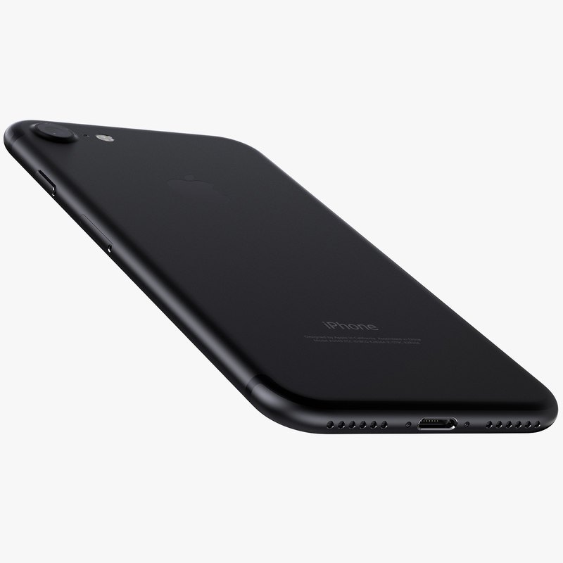 iphone 7 jet black 3d max