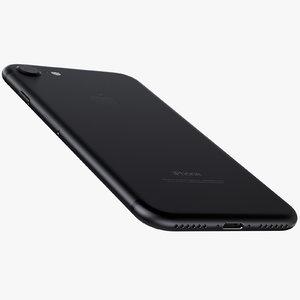 iphone 7 jet black 3d max