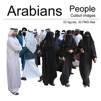 Arabian People Cutout Images