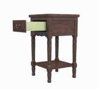 nightstand 1 drawer 3d model