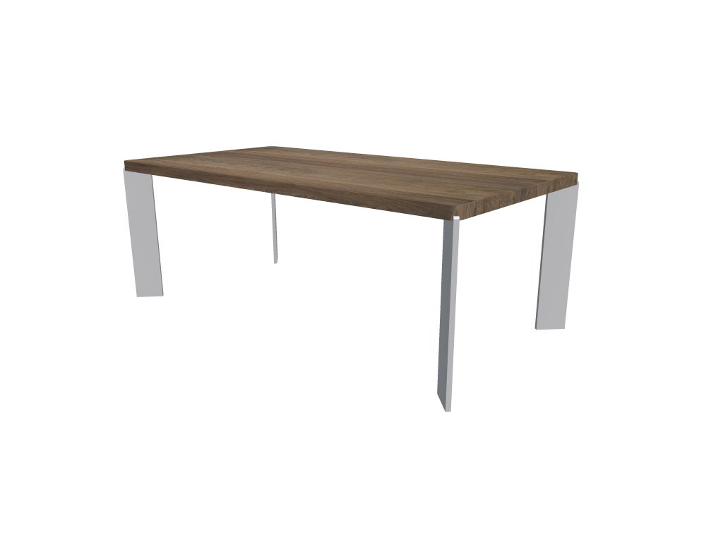 dining table 3d obj