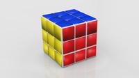 3d model of rubic s cube