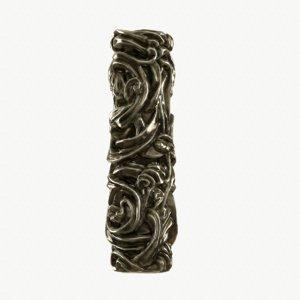 medieval column brass 3d model