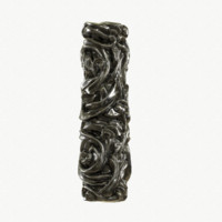 3d model medieval column metal dark