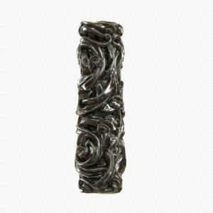 3d model medieval column metal dark