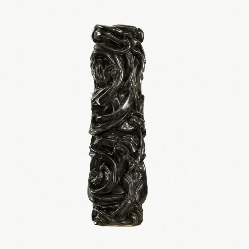 3d model medieval column metal