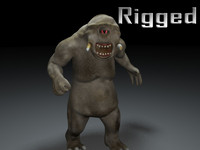 cyclop rigged rigg medieval rpg 3ds