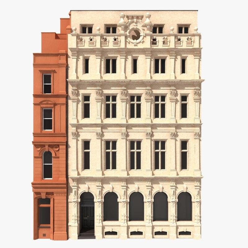 building facade london 3d x