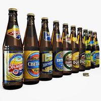 beers russia russian obj
