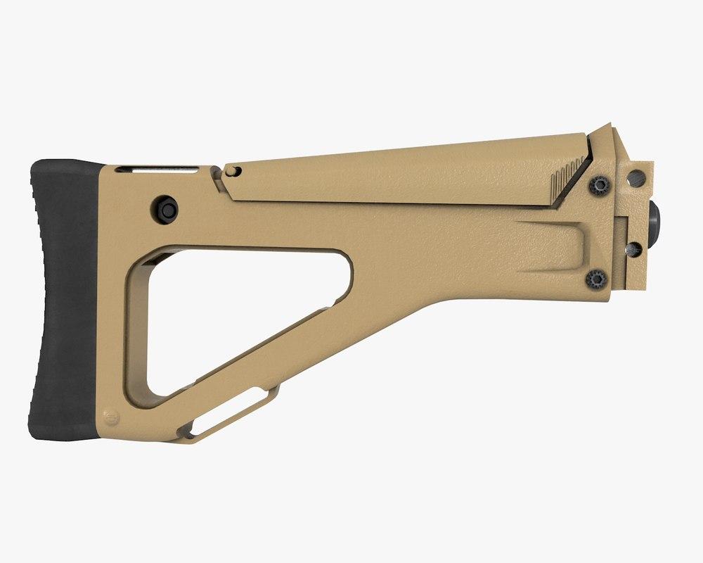fixed stock bushmaster acr obj