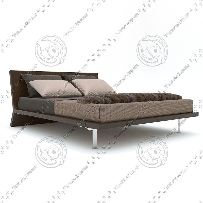 3d bed angie poliform