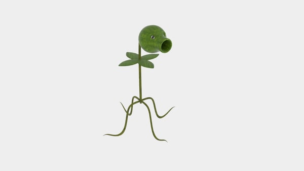 plant sprout shooter dwg