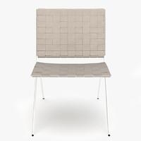 3d model roda berenice chair