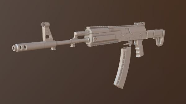 ak 12 3d model