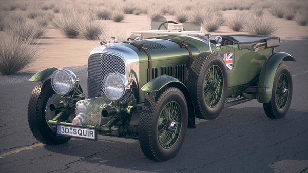bentley blower 4 3ds