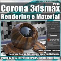 Corona 1.5 in 3dsmax 2016 Rendering e Material Vol 2.0 Cd Front