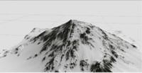 mountain 3d model