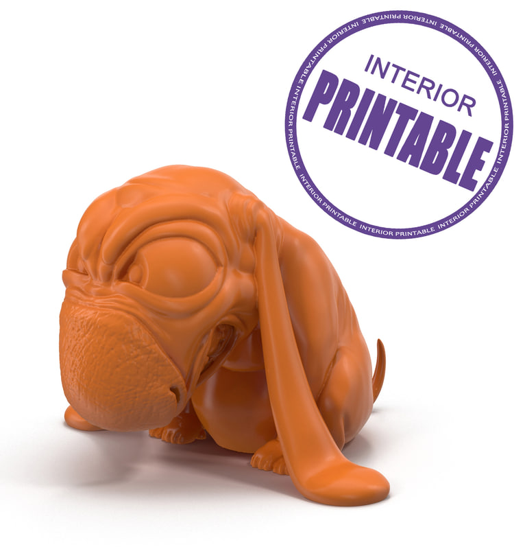 max printer interior print