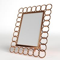photo picture frame copper 3ds