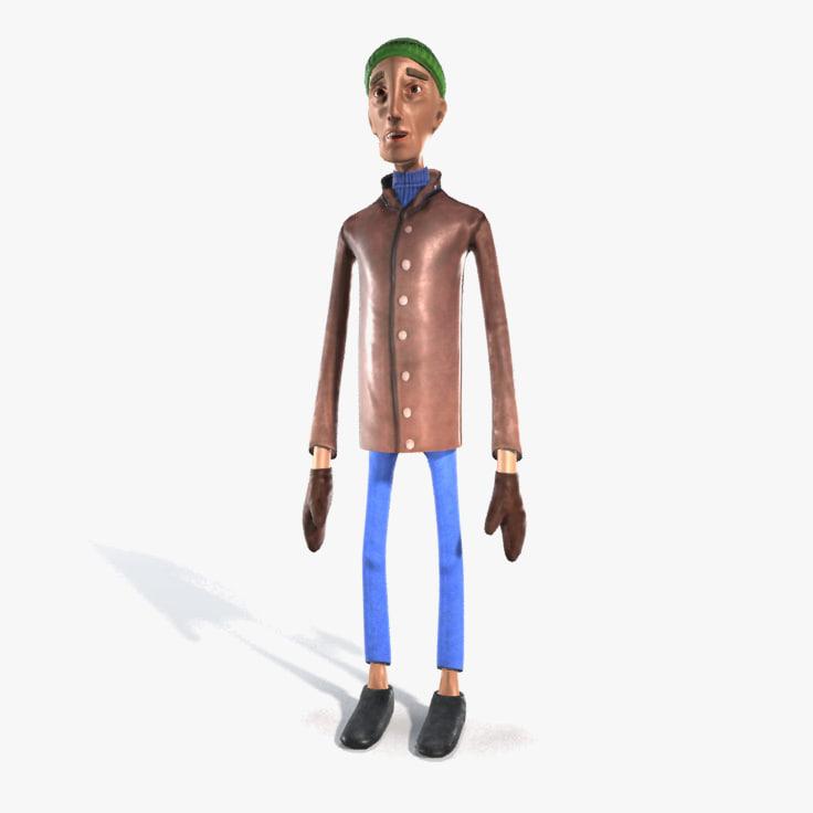max tom character cloth