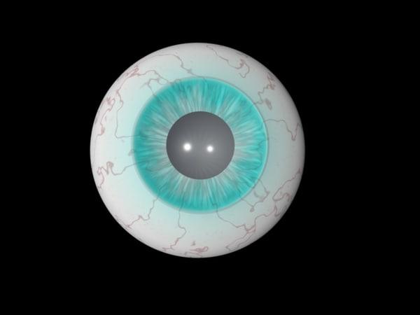 human eye c4d