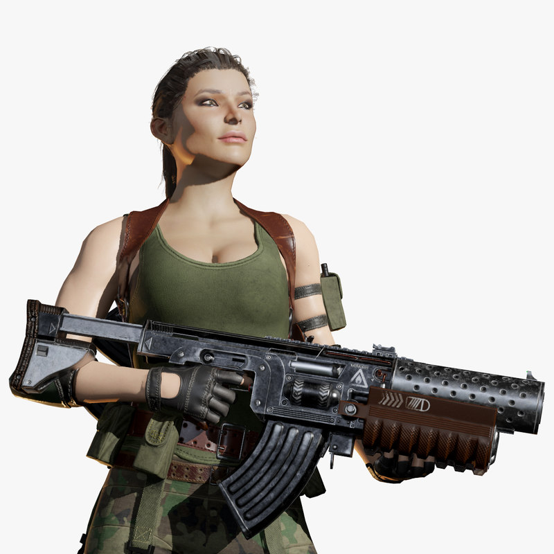 new military woman max