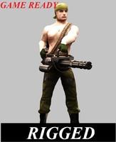3d machine gunner