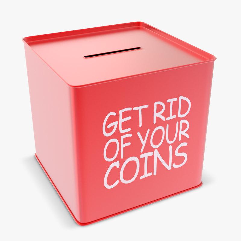 3d money box