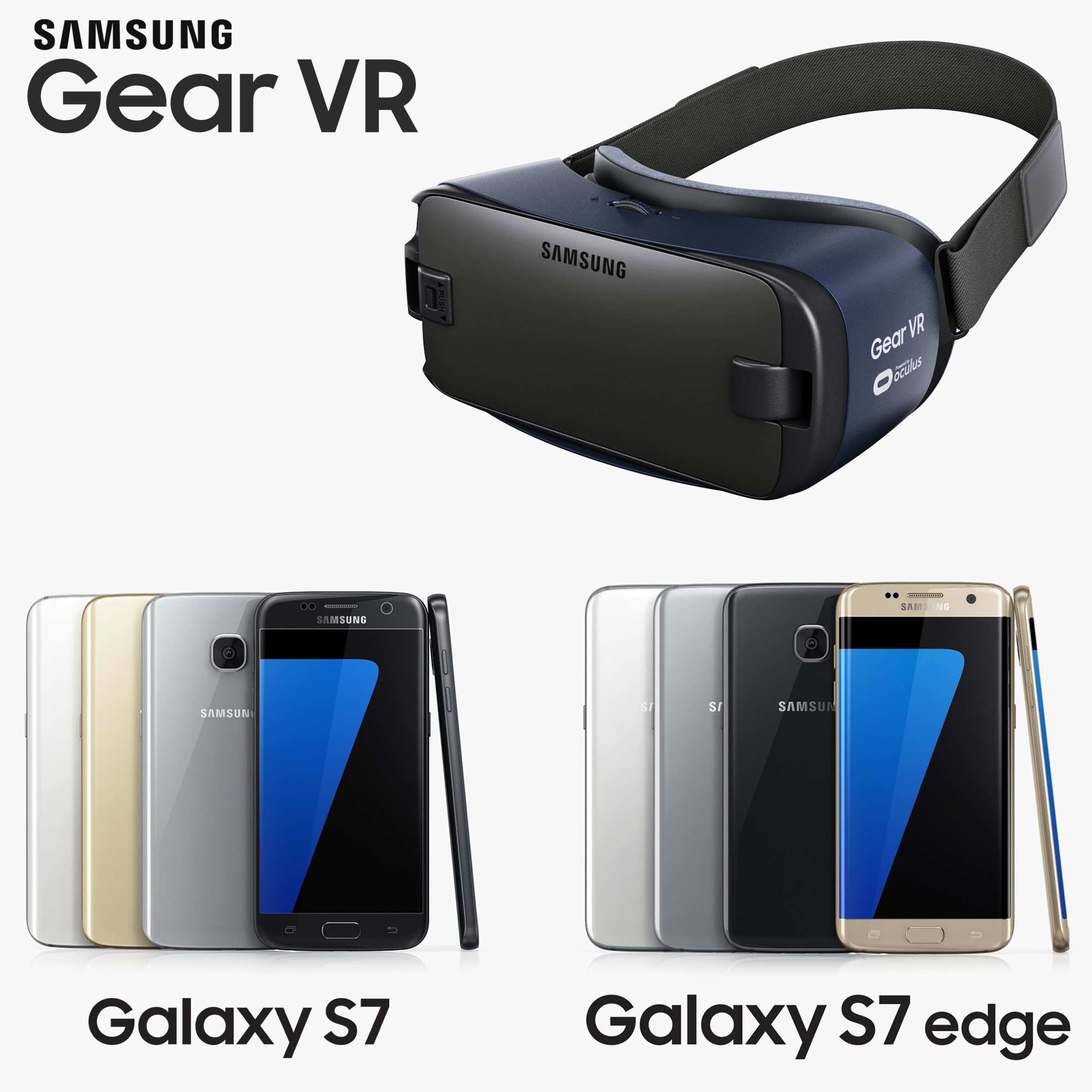 samsung gear galaxy s7 3d model