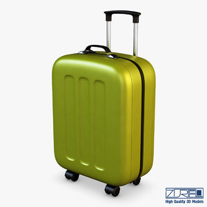 max suitcase green v 1