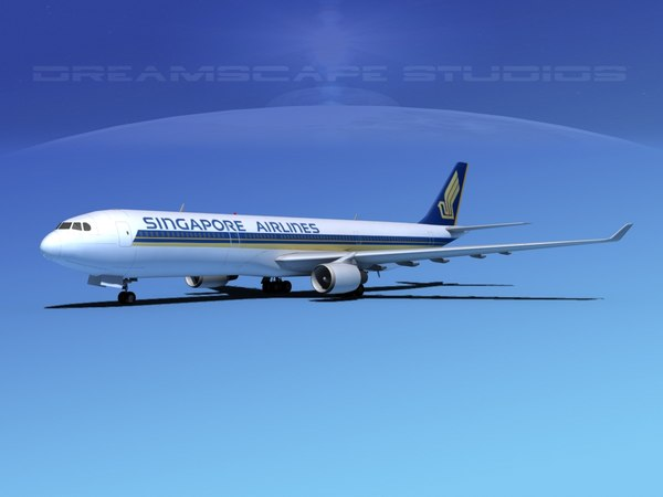 airbus a330-300 a330 airliners 3d max