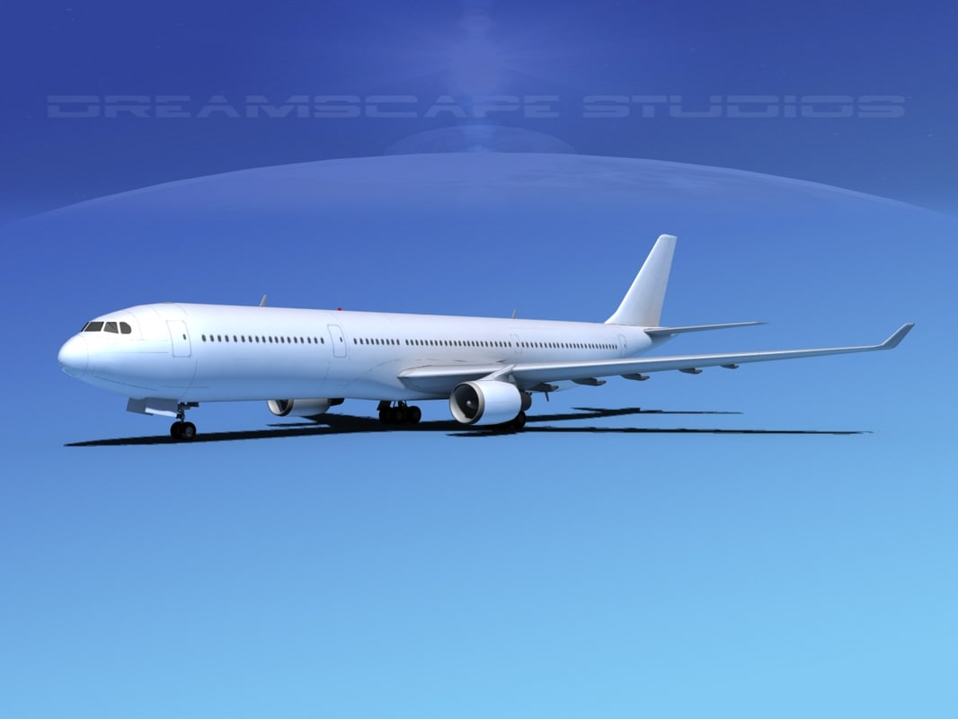 dxf airbus a330-300 a330