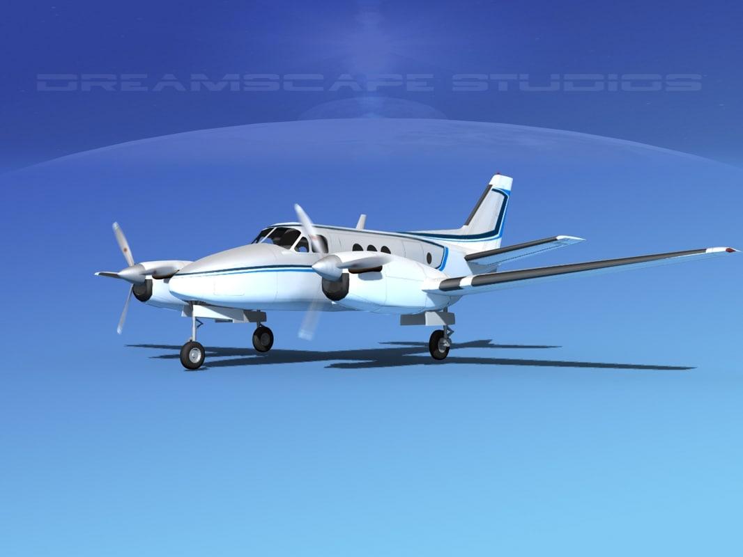 dwg propellers beechcraft c100 king air