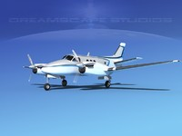 dwg propellers beechcraft c100 king air