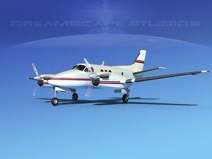 3d propellers beechcraft c100 king air model